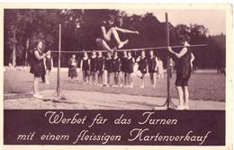 Werbet Für Das Turnen Mit Einem Fleissigen Kartenverkauf / Schweitz / Suisse - Leichtathletik