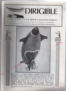 Dirigible , Dirigeable , Journal Du Musée Des Ballons Et Dirigeables Vol 5 N°3 Automne 1994 - Transports