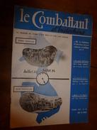1955 LE COMBATTANT D'INDOCHINE:J'étais Prisonnier Du Vietminh; Opé. Fellaga De G. De Villiers; Mitterand; Ho Chi Minh - Revues & Journaux