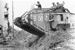 Militaria WW1 -  Char Mark IV En Mouvement - 1914-18