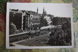RUSSIA. LENINGRAD - ST.PETERSBURG. Kirovsky Prospekt With Main Mosque -  Old PC 1930s Tramway - Rusland