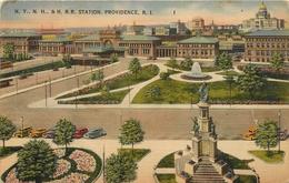 N. Y. N. H. H. R. R. STATION PROVIDENCE R.I. - Providence