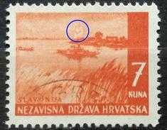 LANDSCAPES-SLAVONIJA-7 K-ERROR-C-RARE-NDH-CROATIA-1941 - Croatia
