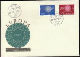 Portugal 1960 / Europa CEPT / FDC - Europa-CEPT