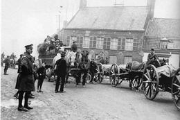 Militaria WW1  - L'artillerie Anglaise Se Retire Vers Cassel En Avril 1918 - 1914-18