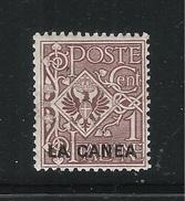 ITALIA - LA CANEA - Uffici Postali All'estero - 1906: Valore Nuovo Stl Da 1 C. Soprastampato - In Buone Condizioni. - La Canea