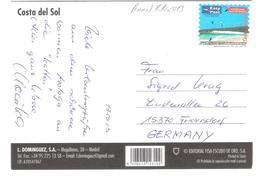Spain - Costa Del Sol - PRIVAT PRE-PAYE TICKET - BIGLIETTO PRE-PAGATO - Private Easy Post Label Stamp 2013 - Spanien