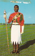 Fiji Sgt Epeli Rayawa Drum Major Fiji Military Band - Fiji