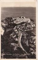 Monaco Le Rocher Vue Prise E La Mayenne Corniche Photo - Monaco