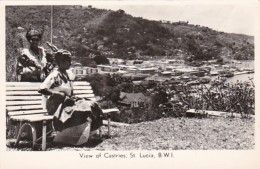Saint Lucia View Of Castries Photo - Saint Lucia