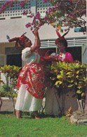 Saint Lucia Native Women In Native Dress The Madras - Saint Lucia