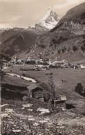 Switzerland Zermatt Und Matterhorn 1946 Photo - VS Valais