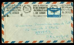 ARGENTINA BRIEFOMSLAG Uit 1951 Gelopen Van BUENOS AIRES Naar ANVERS BELGIQUE  (10.628a) - Argentinië