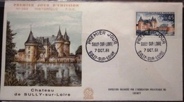 FDC - 1961 - YT 1313 - Sully Sur Loire - Chateau - FDC