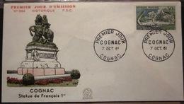 FDC - 1961 - YT 1314 - Cognac - François 1er - FDC