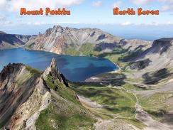 Mount Paektu Nordkorea - Korea (Nord)