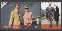 Nederland - 24 April 2017 - Koning Willem-Alexander 50 Jaar - Zegel 6 - MNH - Tab Rechts - Periode 2013-... (Willem-Alexander)