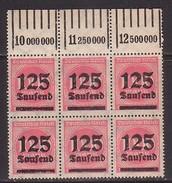 DR  291 , 6er-Block , Xx  (3641) - Deutschland