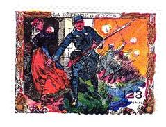 Vignette Militaire Delandre - 123ème Régiment Territorial D'infanterie - Vignettes Militaires