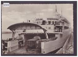 FORMAT 10x15cm - SCHWEDENFÄHRE SASSNITZ IM ROSTOCKER HAFEN - TB - Ferries