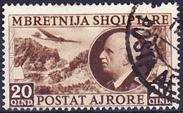 2017-0021 Albania Under Italian Rule Mi 312 Used O - Albania