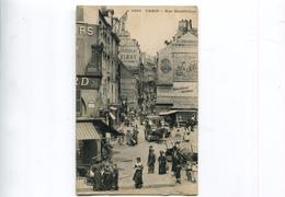 Paris Rue Mouffetard Belle Animation - Arrondissement: 05