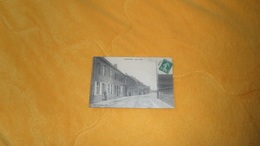 CARTE POSTALE ANCIENNE CIRCULEE DE 1915. / FLORINGHEM.- RUE DE LILLERS. / CACHETS + TIMBRE. - Francia