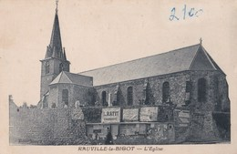 Carte Postale  :Rauville La Bigot (50) L'église    Ed Henry - Frankrijk