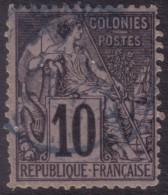 YT50 Alphee Dubois 10c - Reunion Saint Denis - Alphée Dubois