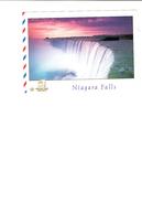 Carte Entier Postale Neuve CANADA Postage Paid / Port Payé - Chutes Du Niagara - Lever De Soleil - Nature