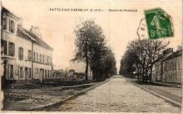 PATTE D'OIE D'HERBLAY ,ROUTE DE PONTOISE   REF 51898 - Herblay
