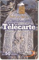 MOROCCO - Terre Du Maroc, Maroc Telecom 50 Dh, Chip GEM3.1, Used
