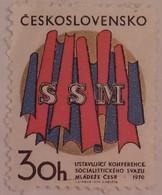 Tchécoslovaquie 1970 - Ligue De La Jeunesse Socialiste   - Timbre Neuf