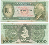 Hungría - Hungary 1.000 Forint 10-11-1983 Pick 173.b Ref 257 - Hungría