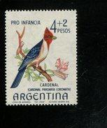 440339481 ARGENTINIE DB 1965 POSTFRIS MINTNEVER HINGED POSTFRIS NEUF YVERT 699 - Unused Stamps