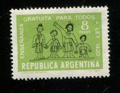 423623345 ARGENTINIE DB 1965 POSTFRIS MINTNEVER HINGED POSTFRIS NEUF YVERT 722 - Argentinien