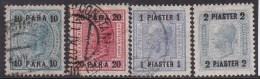 Austria In Turkish Empire 1906 Sc 39-42 Mint/used - Austria