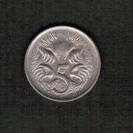 AUSTRALIA  5 CENTS 1980 (KM # 64) - 5 Cents