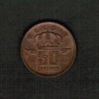 BELGIUM  50 CENTIMES 1974 (Dutch) (KM # 149.1) - 1951-1993: Baudouin I