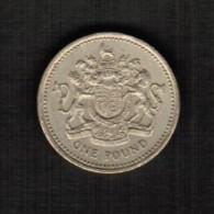 GREAT BRITAIN  1 POUND 1983 (KM # 933) - 1971-… : Decimal Coins