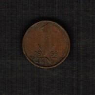 NETHERLANDS  1 CENT 1955 (KM #180) - 1948-1980 : Juliana