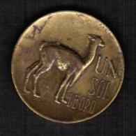 PERU  1 SOL 1966 (KM #248) - Peru