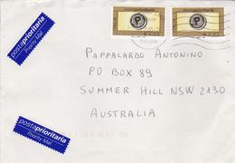 Italy 2005 Airmail Cover, Posta Prioritaria E 0,62 X 2 Sent To Australia - 1946-.. Republiek