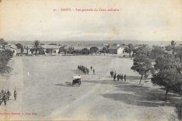 Gabès (Tunisie) - Vue Générale Du Camp Militaire - Imprimerie Moderne A. Muzi - Tunisie