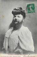 Thaon-les-Vosges - Madame Delait - La Femme à Barbe En 1910 - Photo Homeyer Et Ehret - Femmes Célèbres