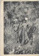 Couple De Guerriers Canaques (Kanak) - Nouvelle Calédonie - Publicité Laboratoire La Biomarine - Océanie