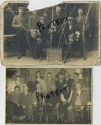 Tir A L'ar   2 Cartes Photo :  See Scans Voor Detail  :  Oudenaarde Overwinnaars Der Dagschieting 1930 - Tiro Al Arco