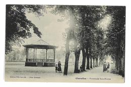 CPA 71 CHAROLLES PROMENADE ST-NICOLAS - Charolles