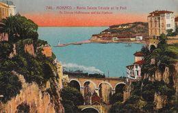Monaco - Ravin Sainte Dévote Et Le Port - Edition Giletta - Carte Colorisée N° 746 Non Circulée - Hafen