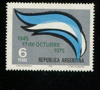 424114339 ARGENTINIE DB 1975 POSTFRIS MINTNEVER HINGED POSTFRIS NEUF YVERT 1025 - Argentinien
